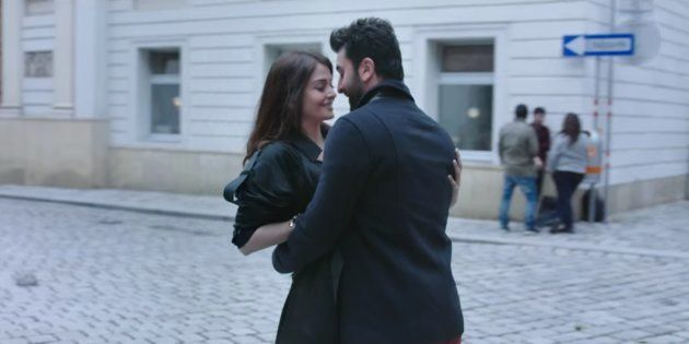 Aishwarya Rai Bachchan and Ranbir Kapoor in a screengrab from the 'Ae Dil Hai Mushkil'