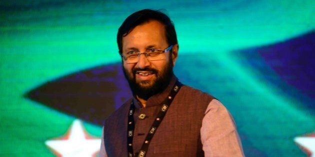 Minister Prakash Javadekar made a speech that could be the biggest blooper in the Indian history had...