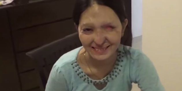 Acid attack victim Reshma is ecstatic about walking the ramp at