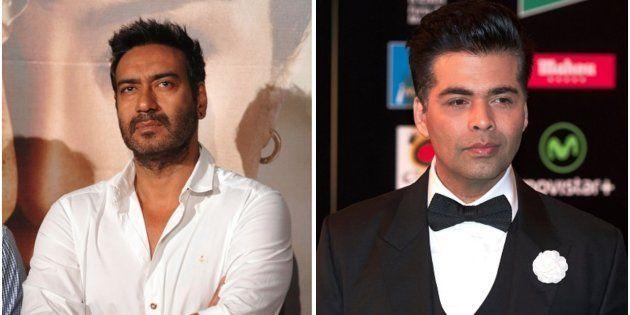 Ajay Devgn and Karan