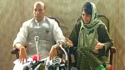 Kashmir Youth Should Have Pens In Their Hands, Not Stones: Rajnath Singh And Mehbooba Mufti Address