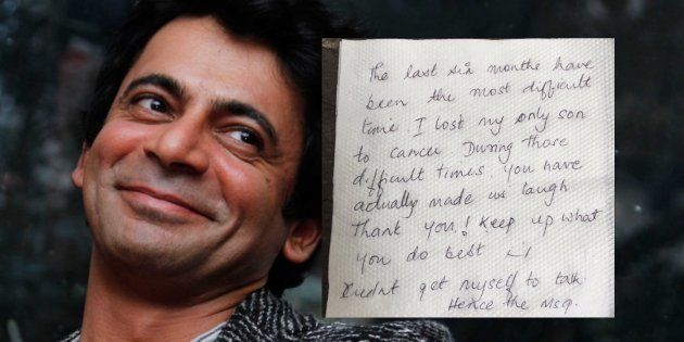 This Heart-Warming Note From A Fan To Comedian Sunil Grover Will Leave You