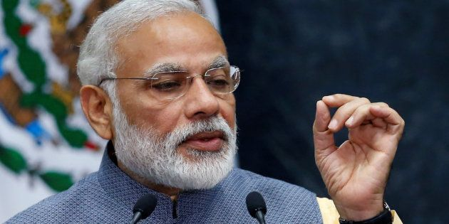 File photo of Indian Prime Minister Narendra