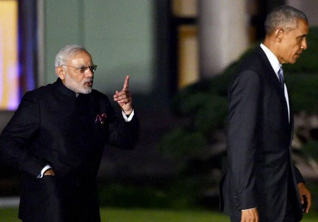 This Perfectly-Timed Photo Of Modi And Obama At The G20 Summit Is Going