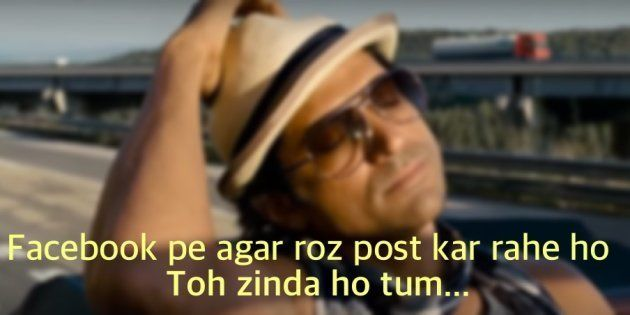 This Parody Of Farhan Akhtar's 'Zinda Ho Tum' Poetry From ZNMD Is On