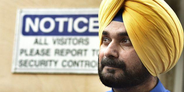 Former BJP leader Navjot Singh