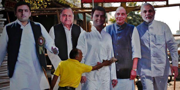 HuffPo-CVoter Survey: It's BJP Versus SP In Uttar