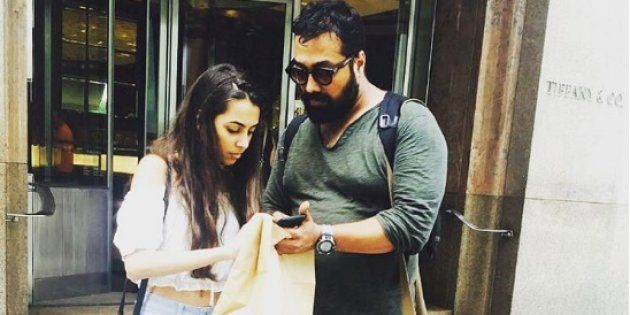 PHOTOS: Anurag Kashyap Celebrates His Birthday With Daughter Aaliyah In