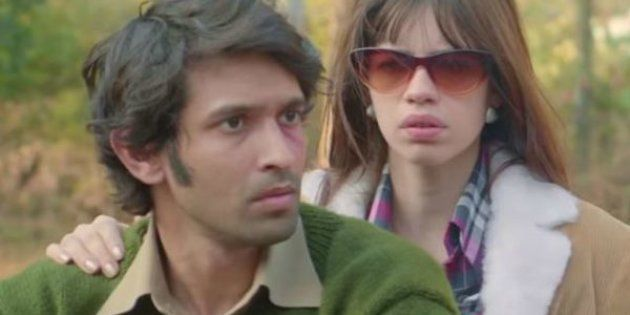 Vikrant Massey and Kalki Koechlin in a still from 'A Death in the