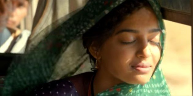 Radhika Apte in a still from 'Parched'.