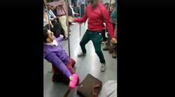 These Two Guys Dancing In Delhi Metro Will Give A New Meaning To 'Cheap