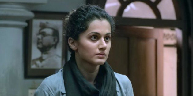 Taapsee Pannu in a still from 'Pink'.