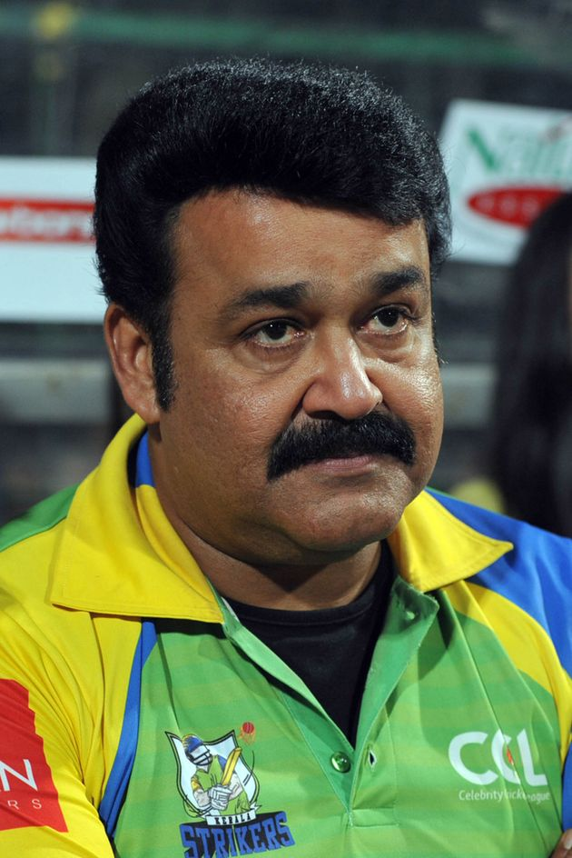 Mohanlal attends the Celebrity Cricket League 2013 (CCL) Finals between Karnataka Bulldozers and Telugu...