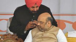 Navjot Singh Sidhu Formally Resigns From