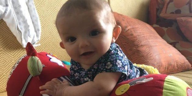 Lily, who was born via surrogacy in May 2016 in Mumbai, to British parents Chris and Michele