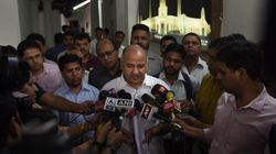 Man Throws Ink At Manish Sisodia, Says He's Upset With Deputy CM's Holidaying In