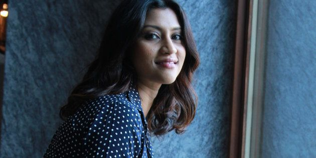 File photo of Indian film actor Konkona Sen