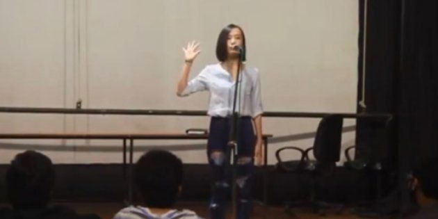 Performed during the National Youth Poetry Slam at the university, Vinatoli Yeptho'sFive Rules for whomever...