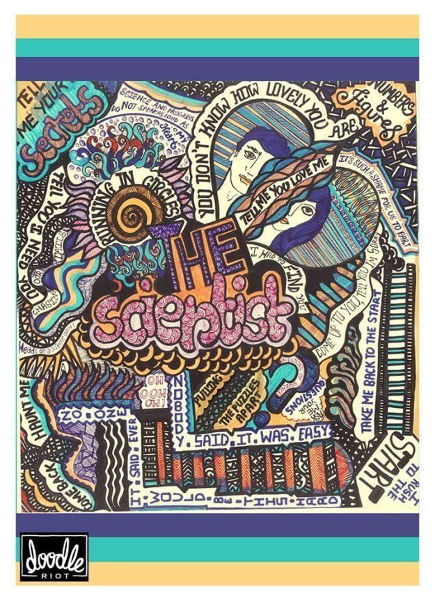 This Artist Recreated Coldplay Songs As Doodles And They Are All Kinds Of