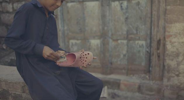Raza Abbas - the kid with a bicycle   Shahana Khan