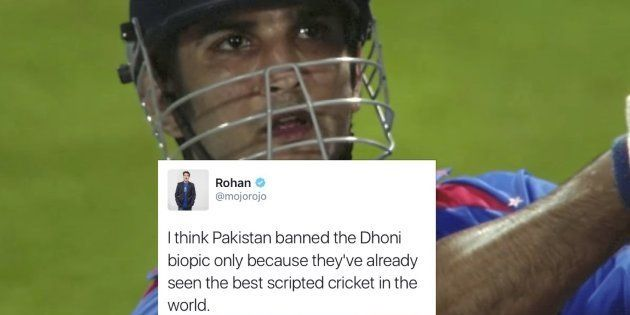 Dhoni's Biopic Is Banned In Pakistan And Indian Twitterati Cannot Stop Joking About