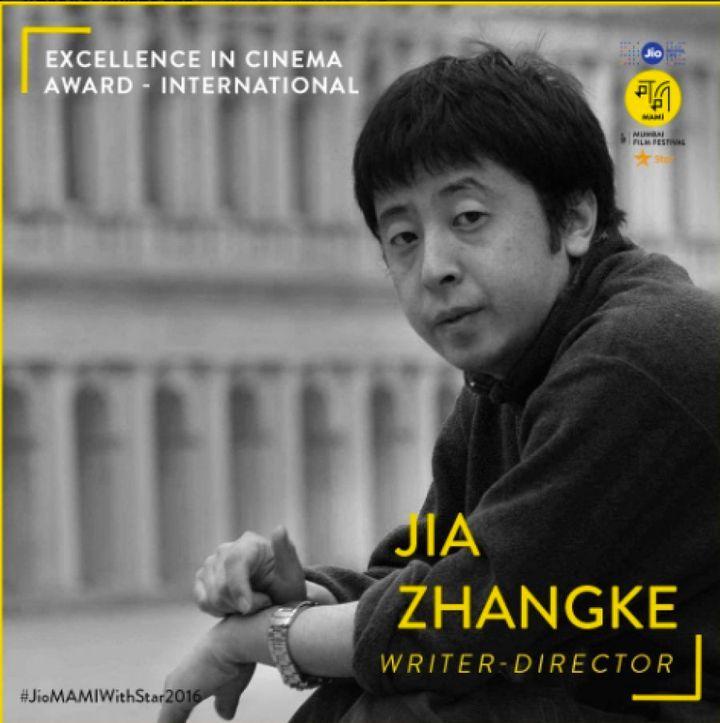 Chinese filmmaker Jia Zhangke
