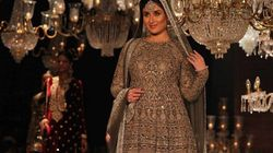 Kareena Kapoor Looked Resplendent As Sabyasachi's Showstopper at LFW