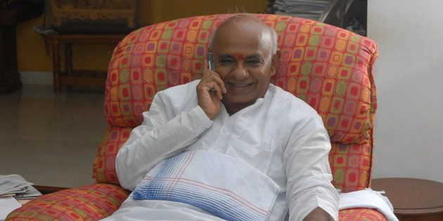 File photo of HD Deve Gowda, former Prime Minister of India and President of Janata Dal