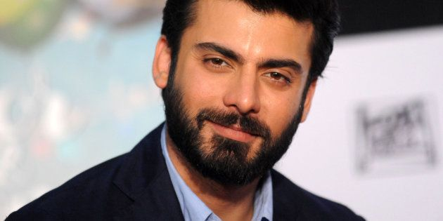 Pakistan actor Fawad Afzal Khan looks on as he attends a press conference for Hindi film Kapoor & Sons...