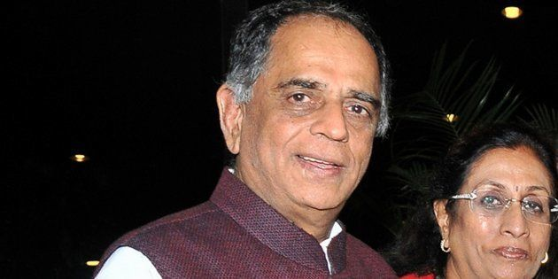 File photo of Pahlaj Nihalani, chairperson of Central Board of Film Certification