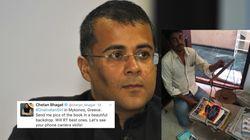 Chetan Bhagat Asked Fans To Send Him Photos Of His New Book, It Ended