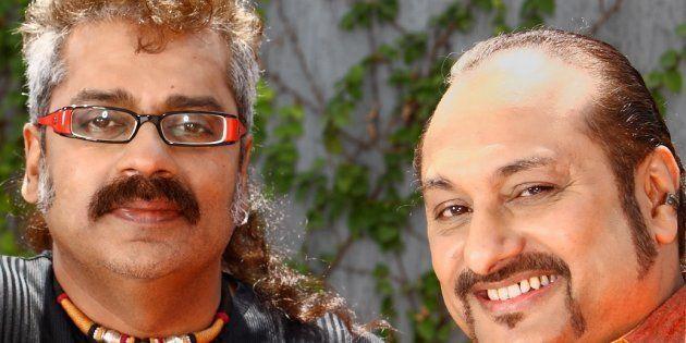 (L-R) Hariharan and Lesle Lewis, members of Colonial
