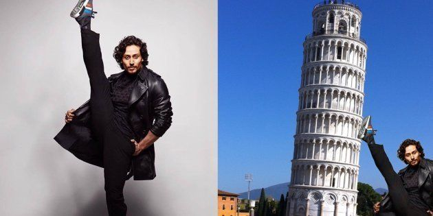 Tiger Shroff's Awkward New Photo Is Every Photoshopper's Dream Come