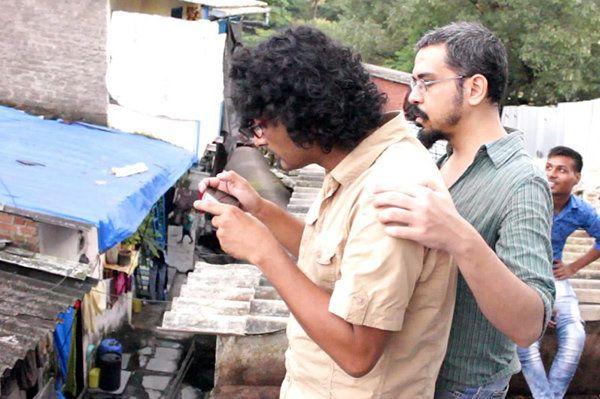Jishnu Bhattacharjee (DOP) & Devashish Makhija (Director) enjoying the