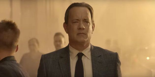 Tom Hanks in a still from