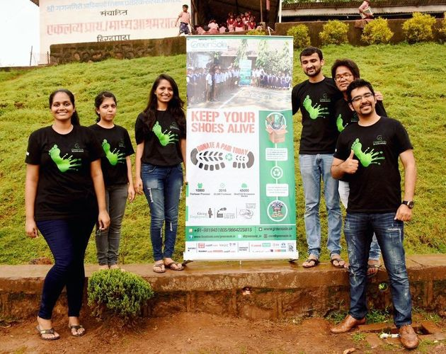 These Mumbaikars Are Recycling Discarded Shoes And Donating New Pairs To The