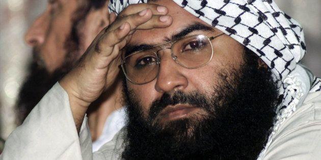 File photo of Maulana Masood Azhar, head of Pakistan's militant Jaish-e-Mohammad