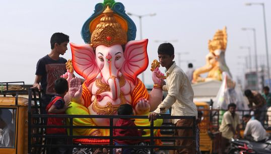 Stunning Images Of Ganesh Chaturthi Celebrations In