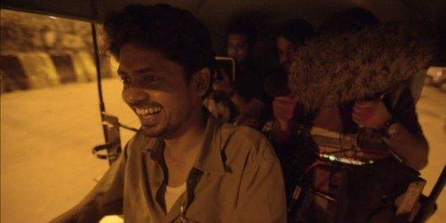 Deepak Sampat in a still from 'Autohead'.