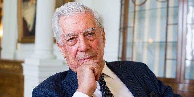 Mario Vargas Llosa on September 7, 2016 in Santander, Spain. (Photo by Juan Manuel Serrano Arce/Getty