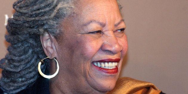 Toni Morrison in New York in 2003. REUTERS/Stephen Chernin PP05040249
