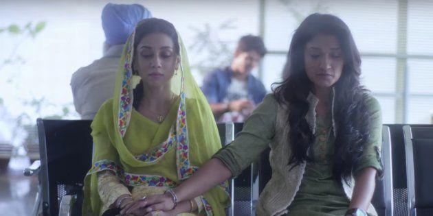 (L-R) Amrita Puri and Sandhya Mridul in a still from 'P.O.W - Bandi Yuddh Ke'.