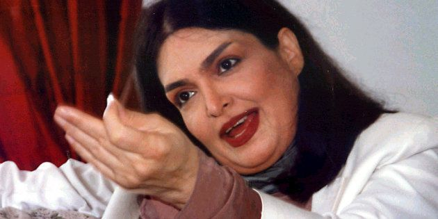 File photo of Bollywood actress Parveen