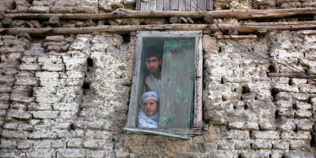 The Kashmiri In The Barber's