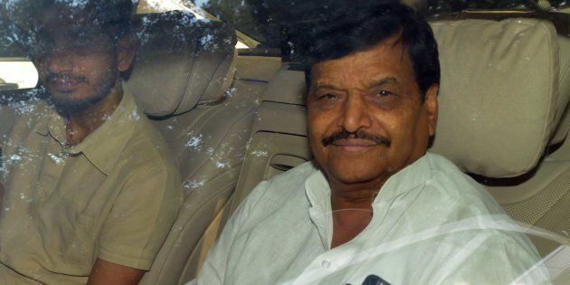 File photo of Samajwadi party leader Shivpal