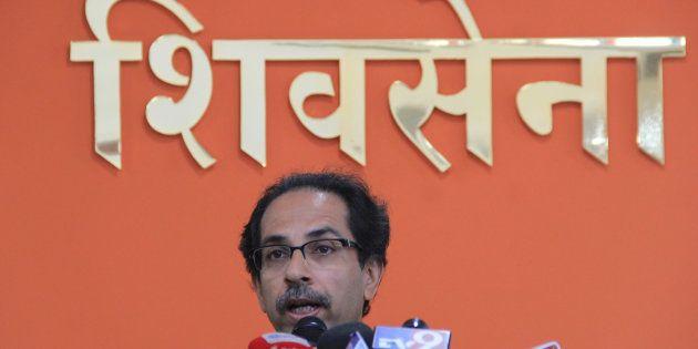 File photo of Shiv Sena Party Chief Uddhav