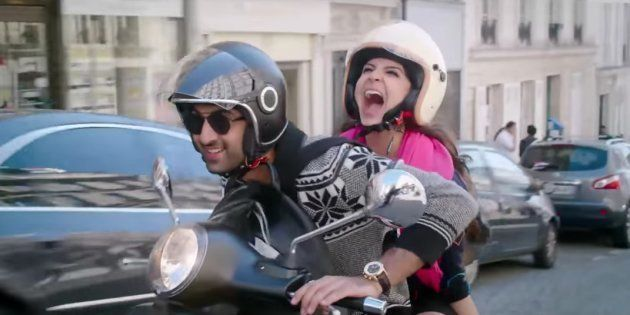 Ranbir Kapoor and Anushka Sharma in 'Ae Dil Hai Mushkil'.
