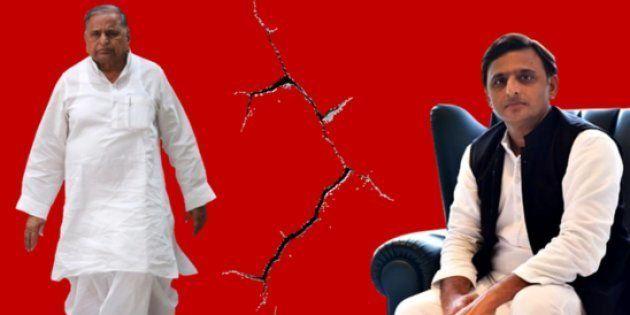 Yadav Family Hug And Talk As Feuding Threatens To Split Their