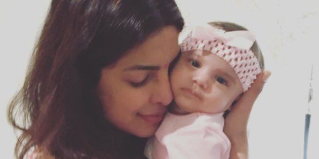 Priyanka Chopra Hung Out With This Lil' Munchkin On Diwali And It Was Too Adorable For