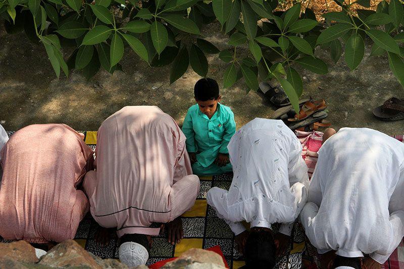 Photos: A Peaceful Eid ul-Adha In Feroz Shah